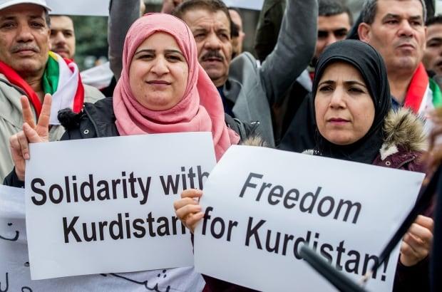 BELGIUM KURDISH PROTEST