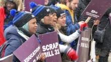 Bill 31 student protest
