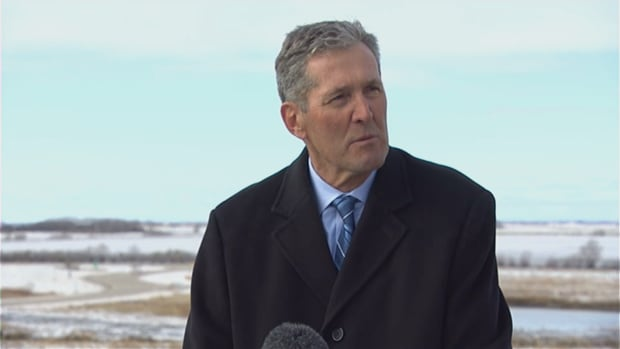 Premier Brian Pallister announced a 'made-in-Manitoba' climate plan on Friday.