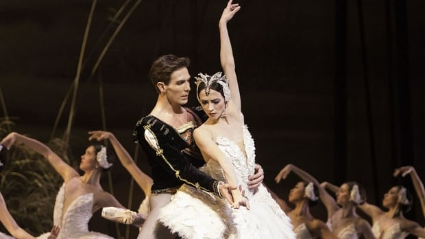 National Ballet of Canada principal dancers Evan McKie and Svetlana Lunkina. The Canada All Star Ballet Gala is taking place at the Sony Centre for the Performing Arts Saturday.