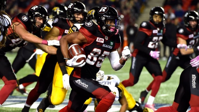 Diontae Spencer Sets Yardage Record In Redblacks Wild Win Over