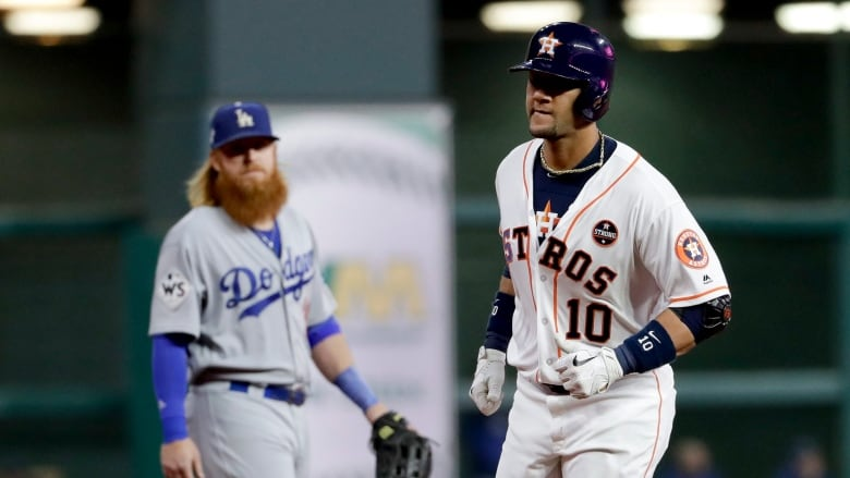wholesale dealer ba583 43a7f MLB suspends Astros' Yuli Gurriel for 5 games next season ...
