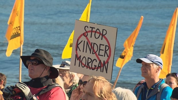Trans Mountain Kinder Morgan protest 28 Oct 2017