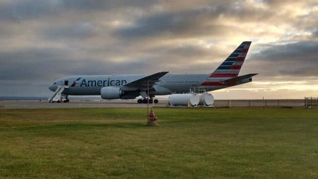 An American Airlines Boeing 777 made an emergency landing at Stephenville Airport in October after the pilot noticed a cracked windshield.