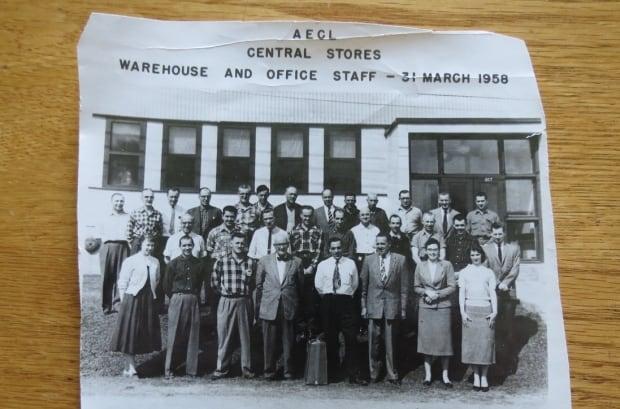 Staff photo 1958
