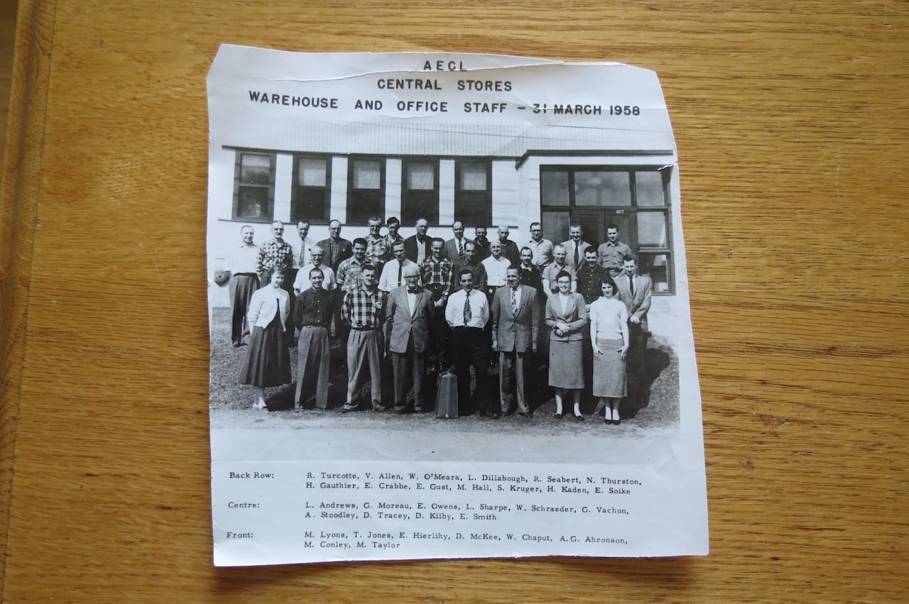 Workers who helped clean up nuclear accidents at Chalk River