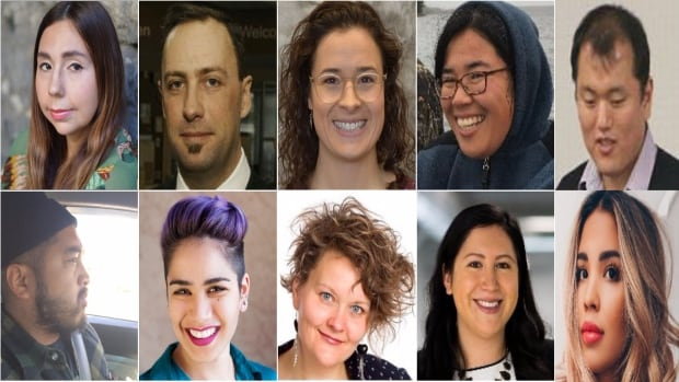 Your 2017 Future 40 finalists: top row, left-right: Frances Koncan, Ry Moran, Danielle Pahud, Anny Chen and Ji Hyun Ko. Bottom row, left-right: Ariel Polvorosa, Deirdre Khan, Deborah McPhail, Jarita Greyeyes and Clairissa Roy-Altares.