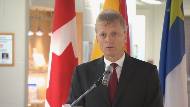 Roger Melanson, the minister responsible for post-secondary education, says the province will cover tuition for the first group of students in the cannabis cultivation technician program.