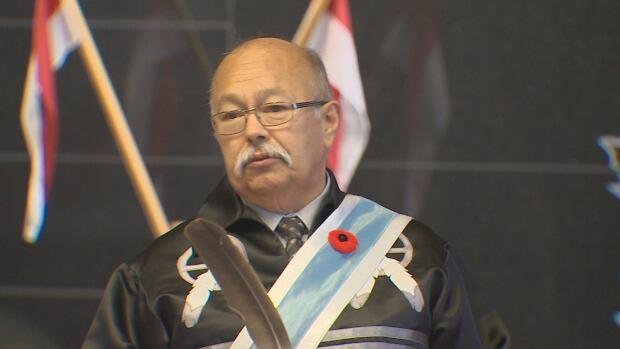 Keptin Donald Julien, Executive Director, Confederacy of Mainland Mi'kmaq