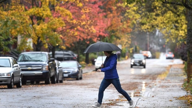 Chance of showers in Ottawa and a high of 6 C.