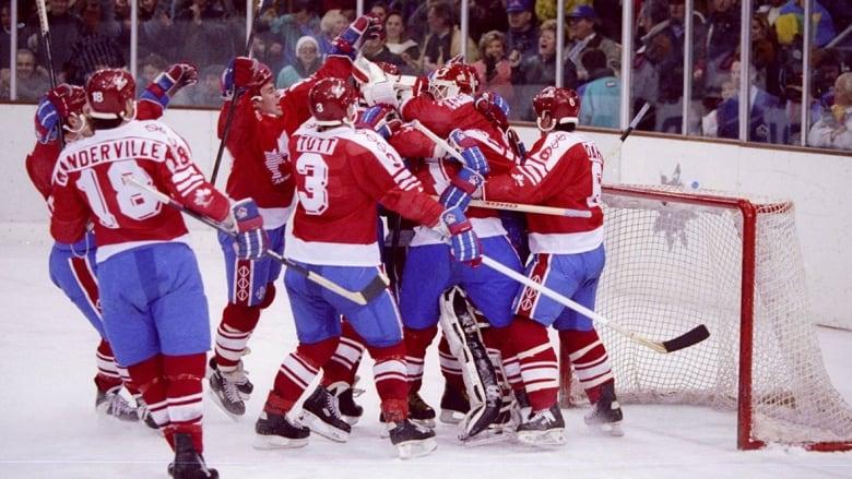 6e85ff9458d Canada s Olympic hockey jerseys through the years