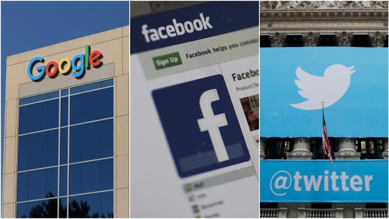 Facebook, Twitter, Google executives face 2nd day of