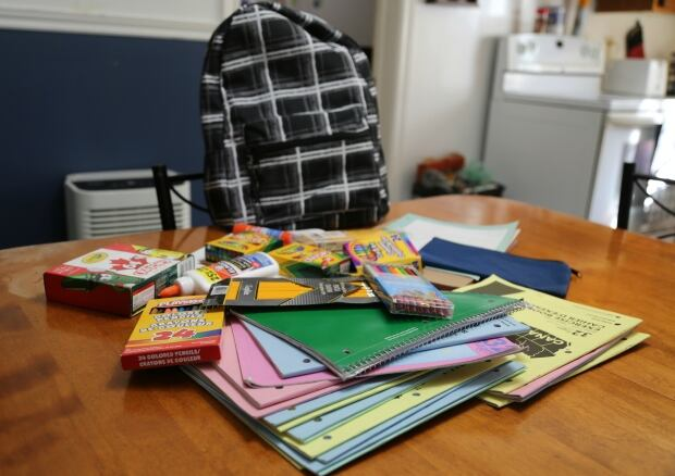 backpack Fredericton parent grateful to 'stranger' for paying fee for school supplies