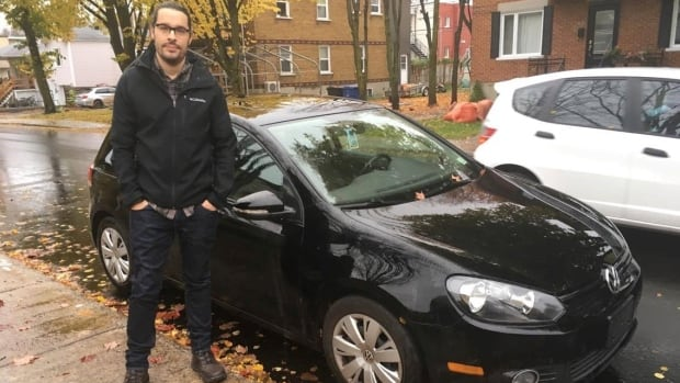 Quebec City resident Jesse Zimmer imported his 2010 Golf TDI into Canada from the U.S. and is still waiting for his claim to be settled.