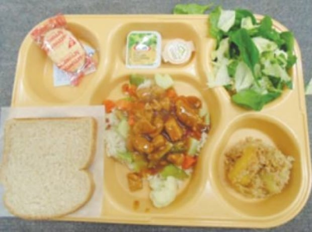 prison meal Canada