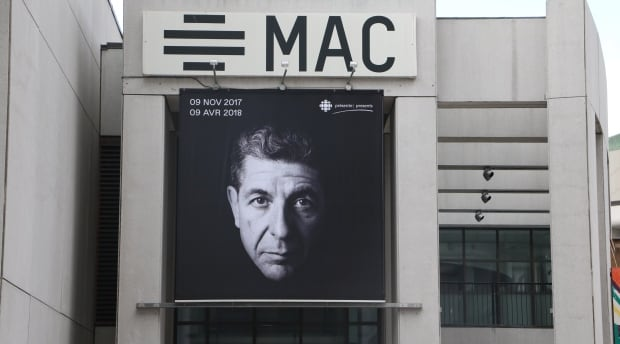 mac leonard cohen signage