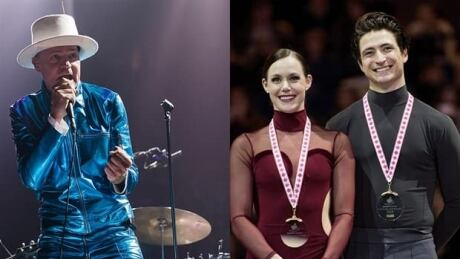 Tessa Virtue and Scott Moir pay tribute to Gord Downie