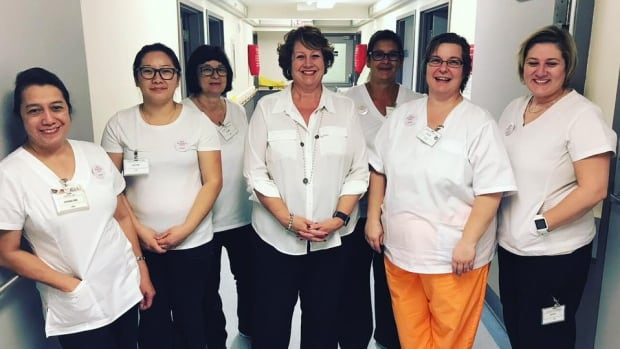 Nurses at the Vista Park Lodge long-term care facility in Winnipeg have been taking part in 'Wear White Wednesdays,' a national movement joined by the Manitoba Nurses' Union to show support for patient safety and solidarity with their colleagues.