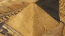 Khufu's Pyramid aerial view