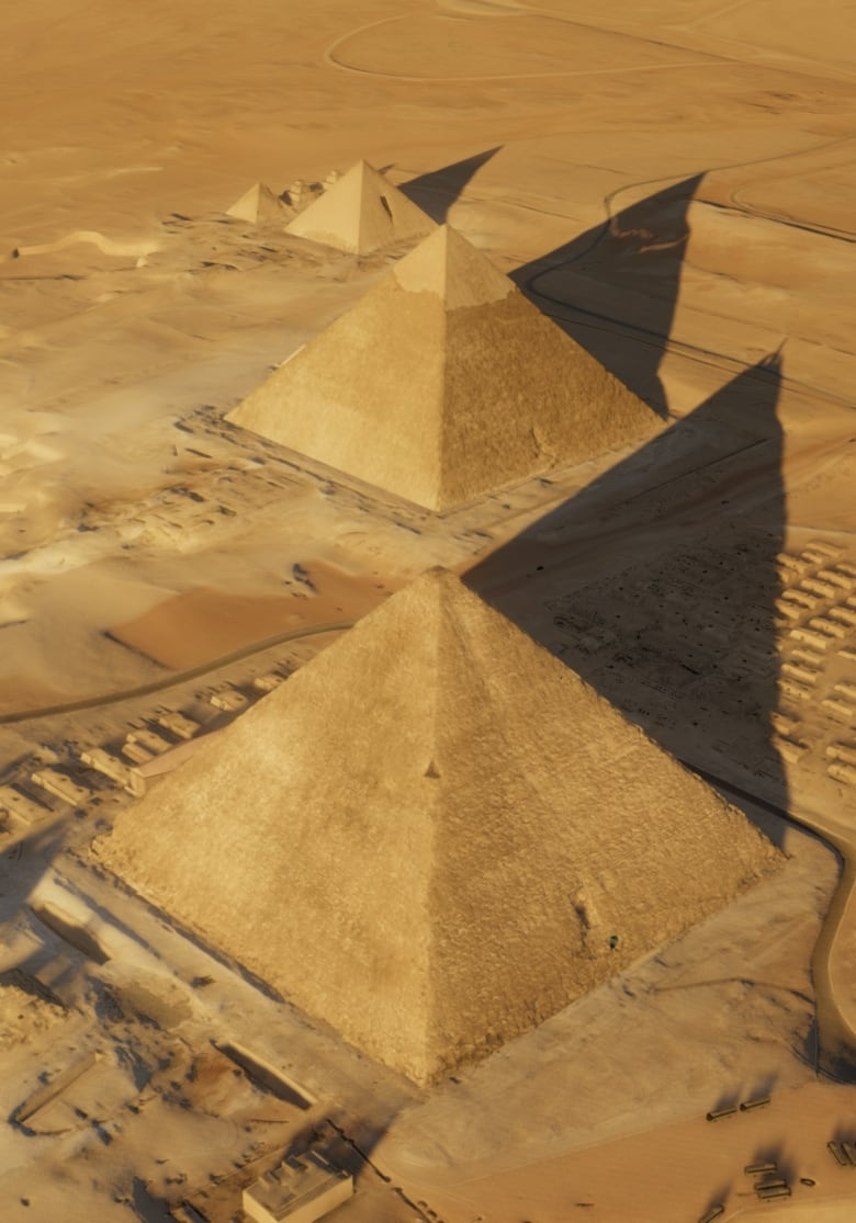 Cosmic rays point to mysterious void in Great Pyramid of