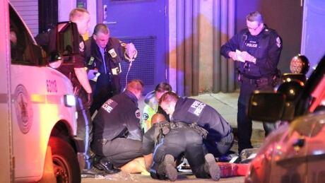 New Westminster stabbing victim