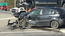 Gander car crash