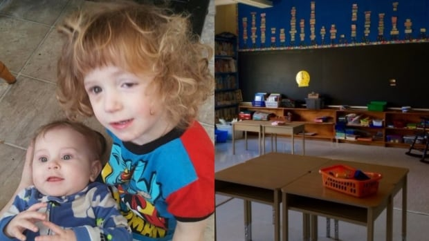 The province says pre-kindergarten classes aren't always equipped for children with special needs like Leslie Steer (in red).
