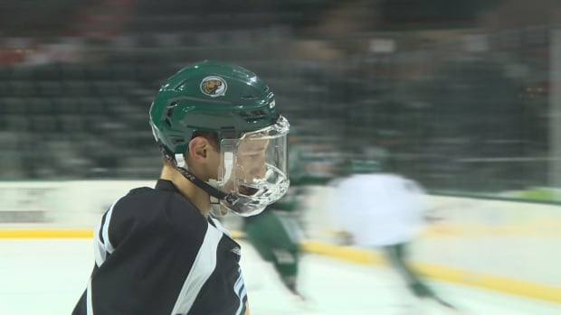 Zach Whitecloud of Brandon, Man., plays for Bemidji State University in Minnesota. He is one of the players with a shot at making Team Canada at the Pyeongchang Winter Olympics in 2018.
