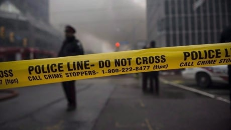 Toronto Police Tape — Crime Stoppers