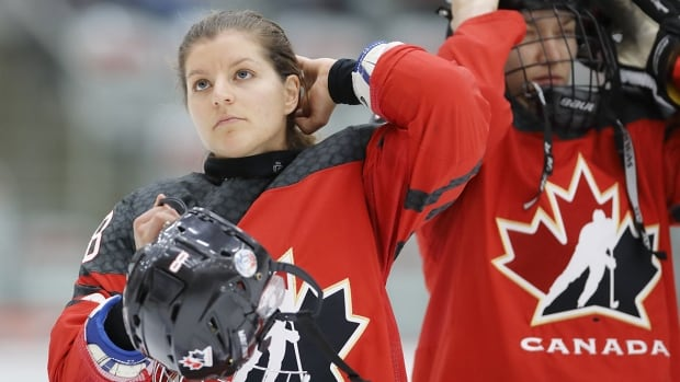 Veteran defenceman Laura Fortino has shown a willingness to join the attack, to the delight of the Canadian coaching staff.