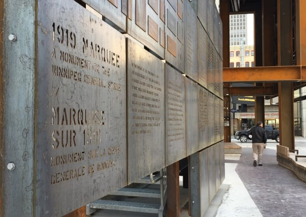 Winnipeg General Strike monument