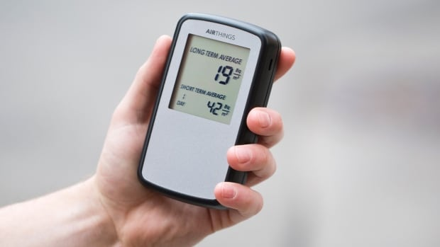 The Corentium Home radon detector can be borrowed from public libraries in Nova Scotia.
