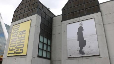 leonard cohen mac signage