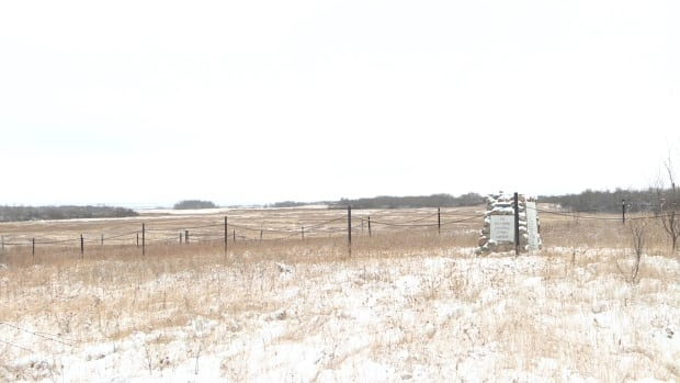 The Battleford Industrial School cemetery is now surrounded by private property, meaning it's not legally accessible to the descendants of those buried in the cemetery or other members of the public.