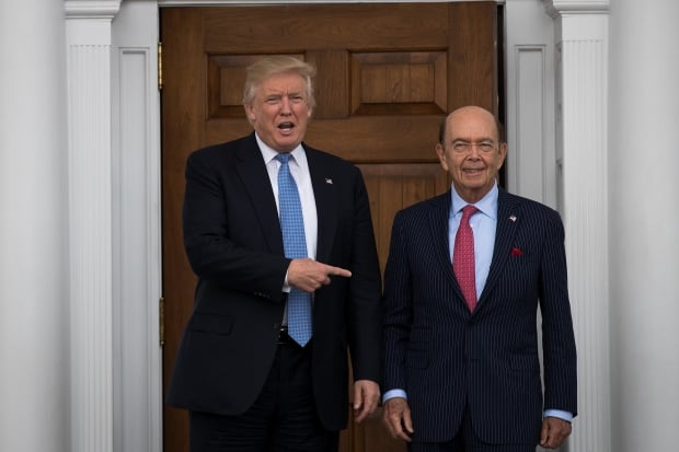 Trump and Ross