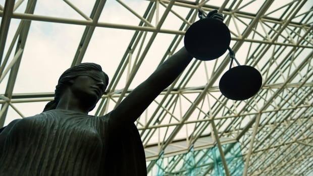 Lady Justice statue at Supreme Court courthouse in Vancouver