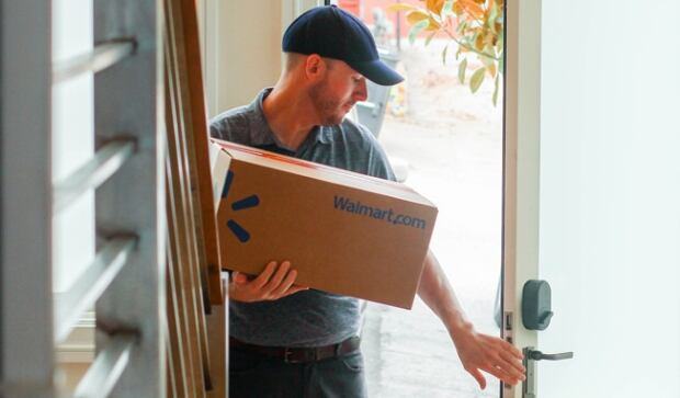 Walmart in-home delivery