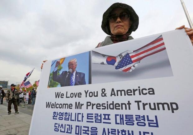South Korea Asia Awaits Trump