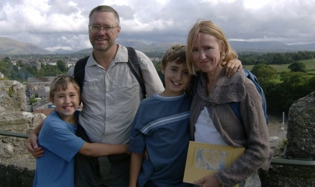 Letts Family in Wales