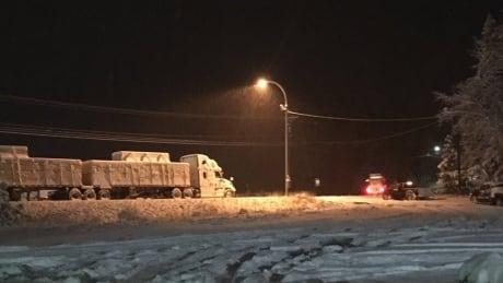 princeton snow november 2 highway