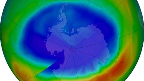 Antarctica ozone