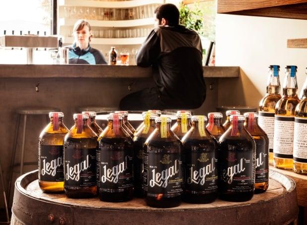 Legal weed beverage