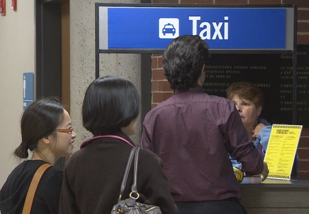 Airport Taxi Stand