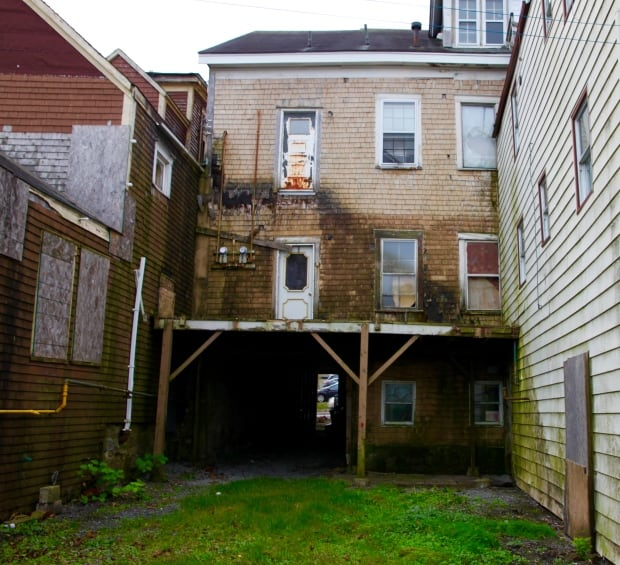 peters-street What's happening to 47 boarded-up buildings in Saint John?