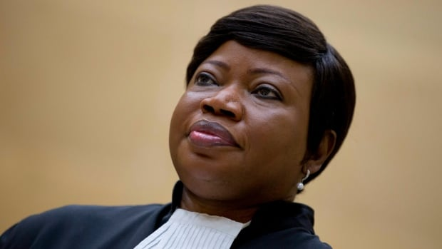 Chief prosecutor Fatou Bensouda was at the International Criminal Court in The Hague, Netherlands, on Sept. 29, 2015. Bensouda says she is seeking an investigation into alleged war crimes related to the conflict in Afghanistan.