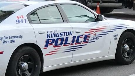Kingston Police cruiser, Aug. 18, 2017