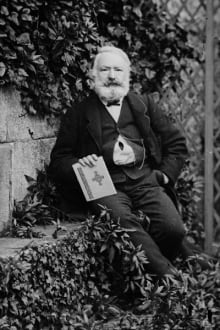Victor Hugo, circa 1868, from Getty