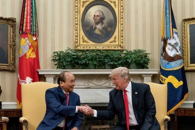Trump US Vietnam