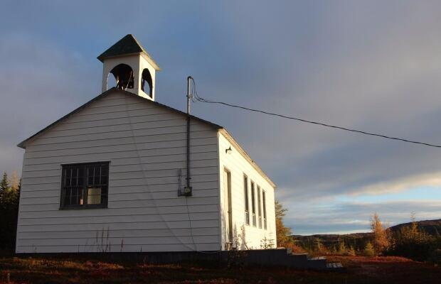 William's Harbour church