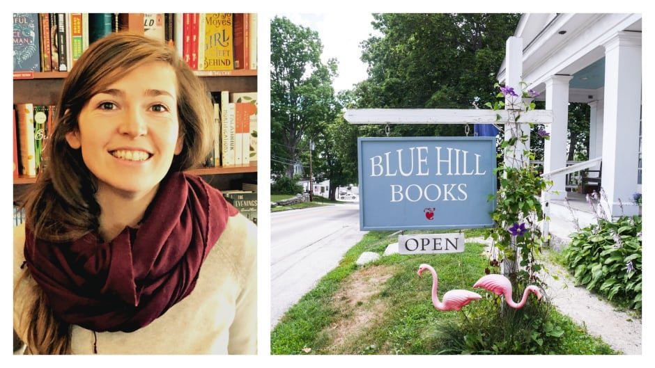 Samantha Haskell, owner of Blue Hill Books, an independent bookstore in Maine